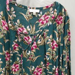 Umgee Dresses - Umgee brand ruffle sleeve dress